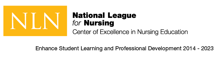 National League for Nursing Center of Excellence badge